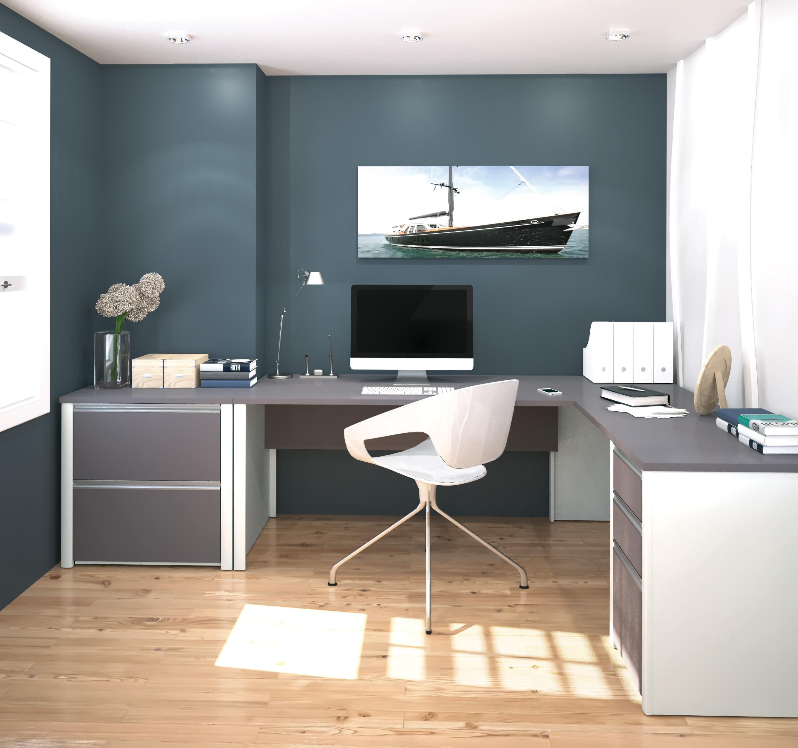 choisir les bonnes couleurs pour votre bureau bestar. Black Bedroom Furniture Sets. Home Design Ideas