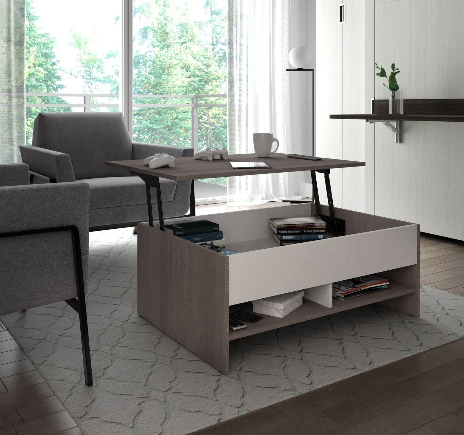 Bestar lift-top coffee table