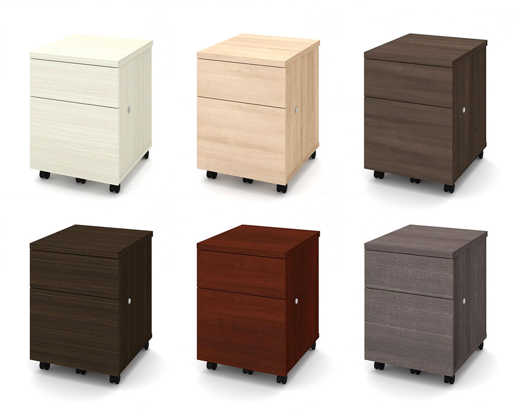 Bestar File Cabinets and pedestals