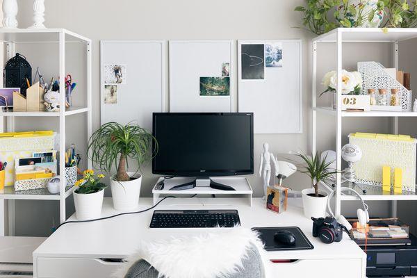 6 façons de relooker son bureau à petit prix