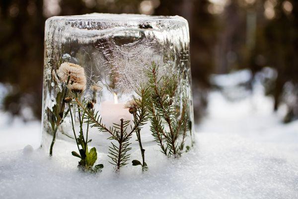 Lanterne de glace