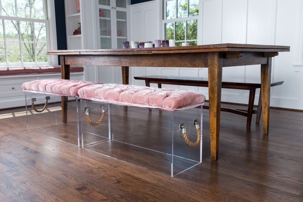 meuble en acrylique