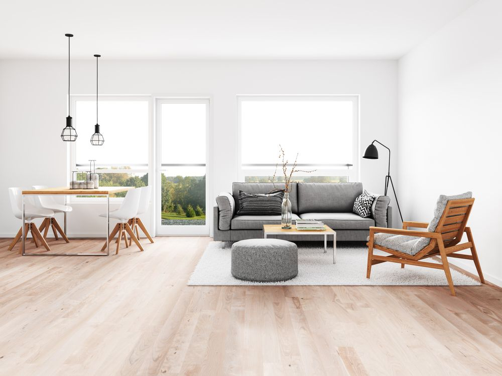 A Minimalist Living Room: Simplicity, Beauty, and Comfort in ...