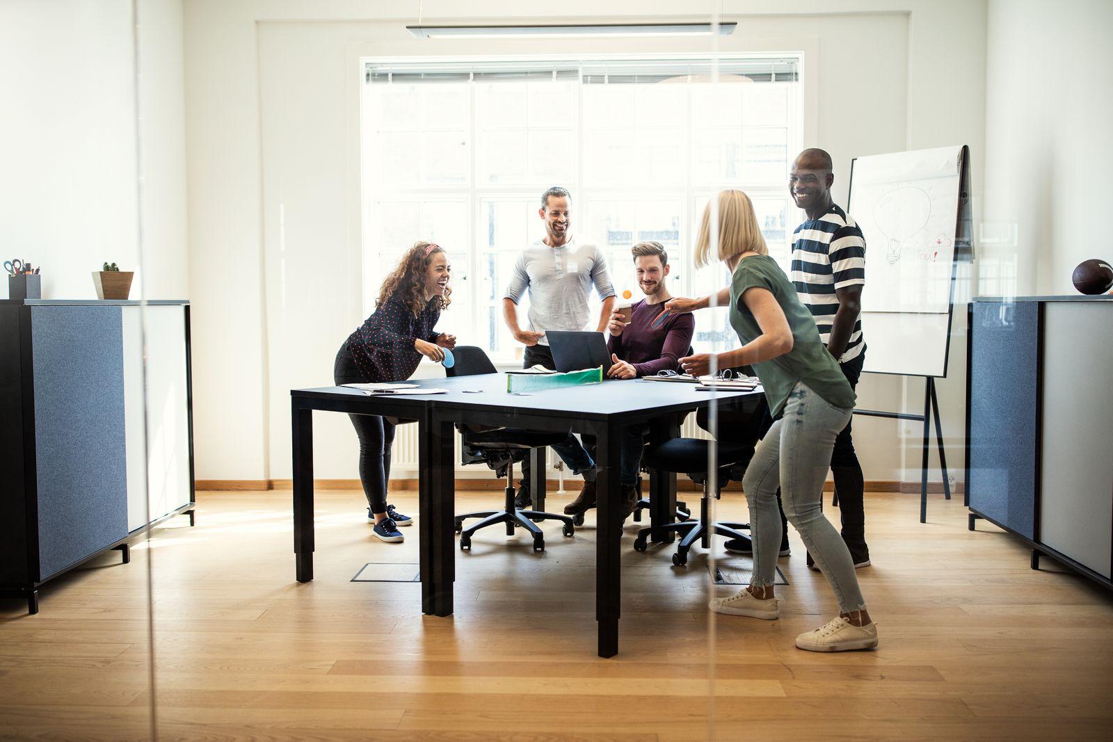 Pour accroître la productivité au bureau, prévoyez des coins détente