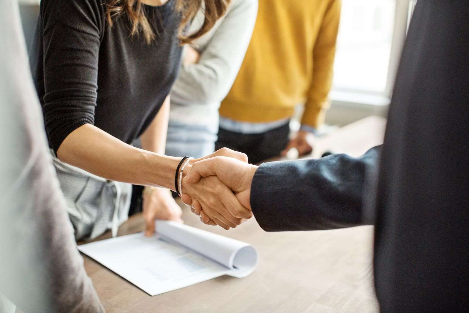 Good relation employee and employer
