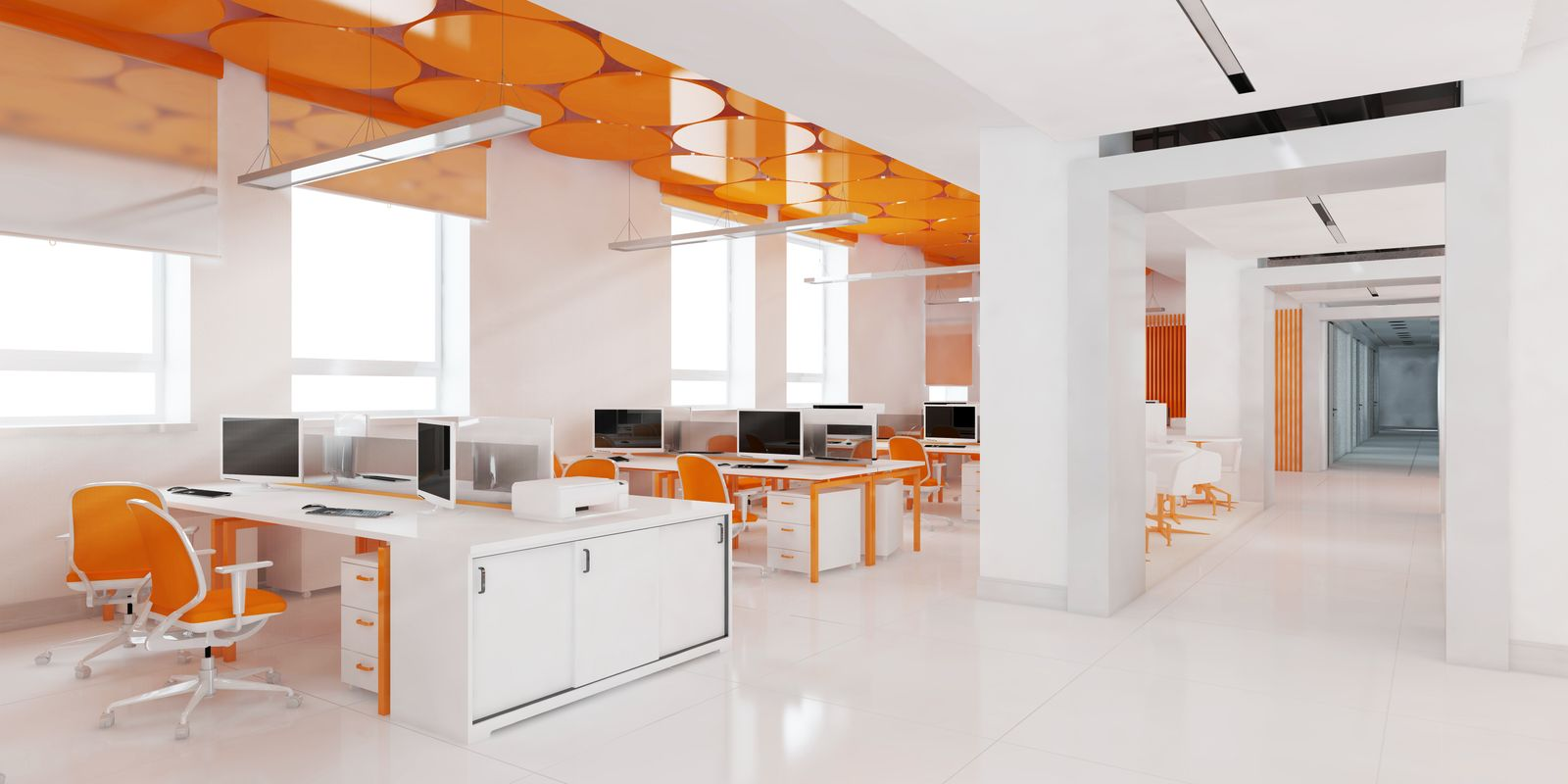 Colour psychology in the office
