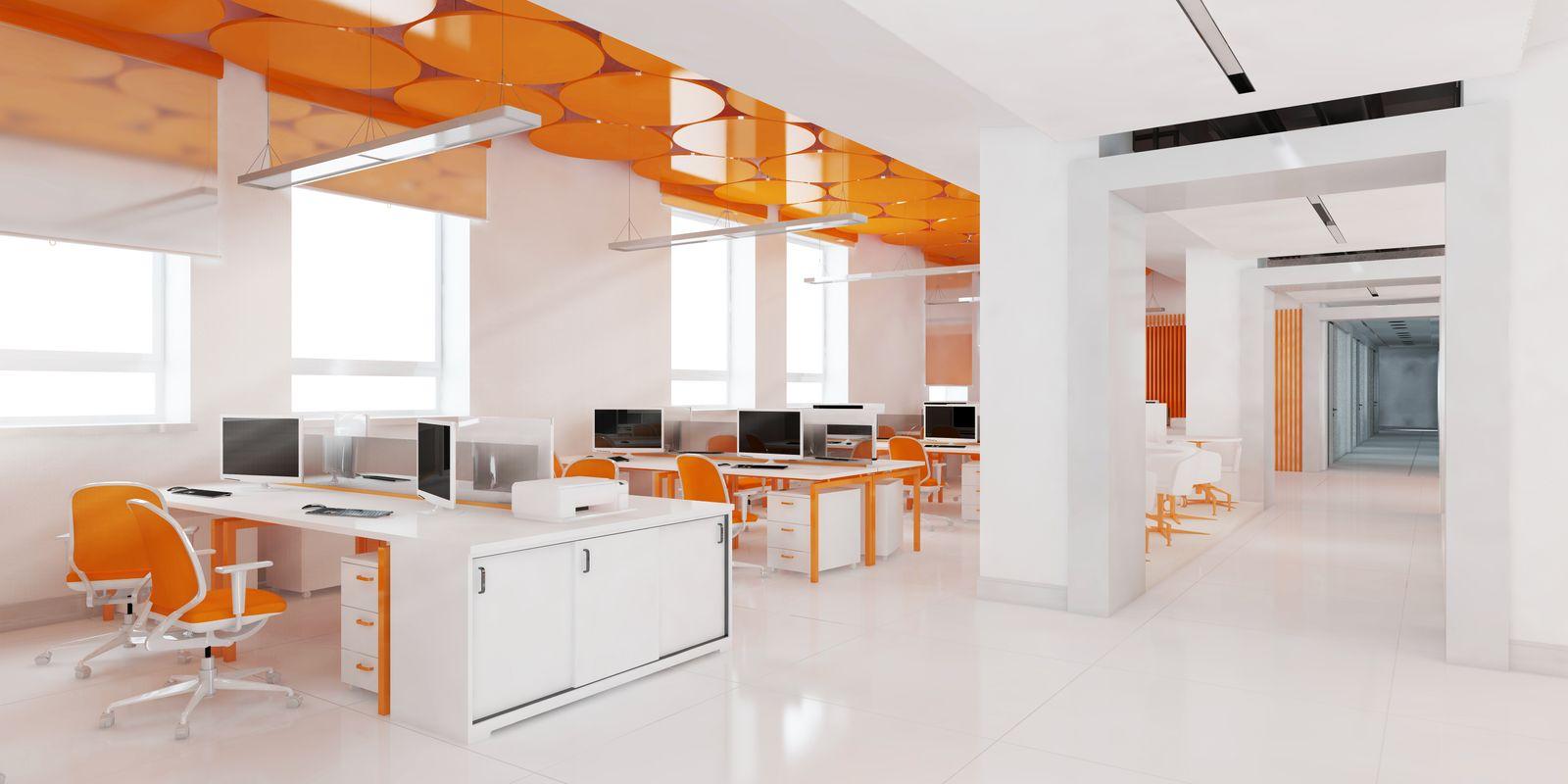 Psychologie de la couleur au bureau