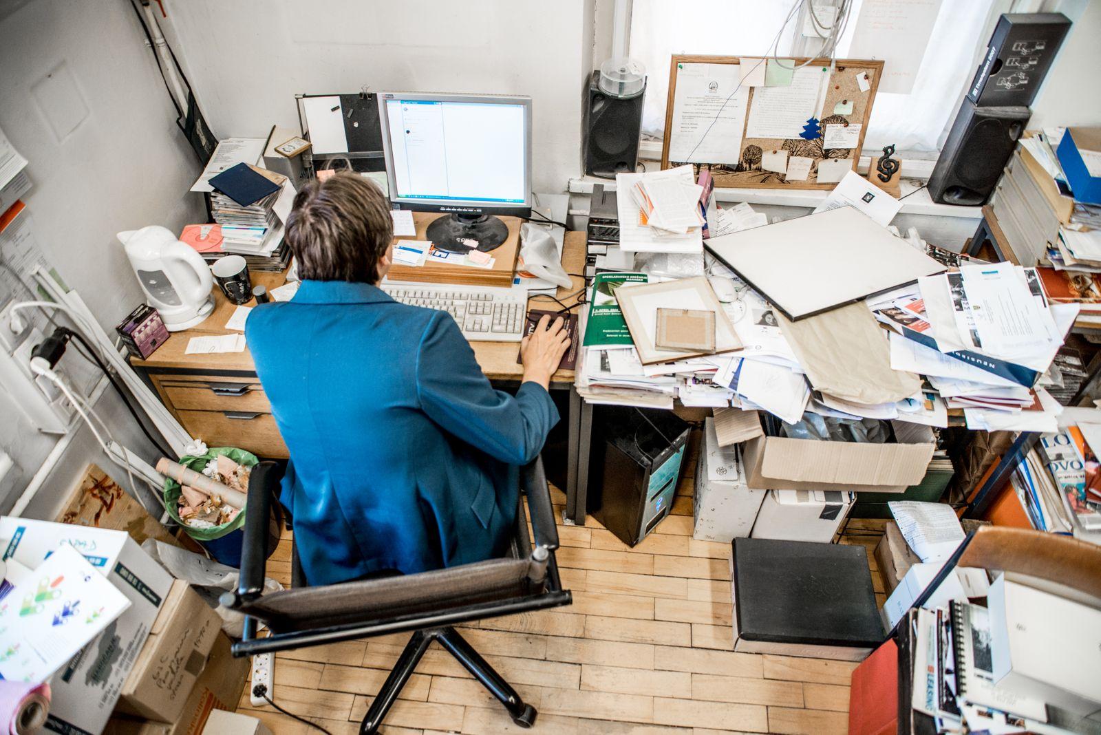 Désencombrer le bureau à la maison