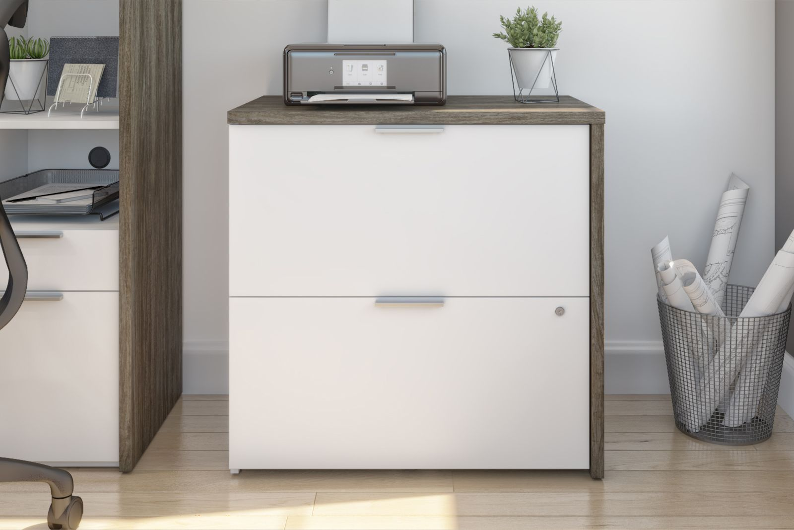 Bestar lateral filing cabinet