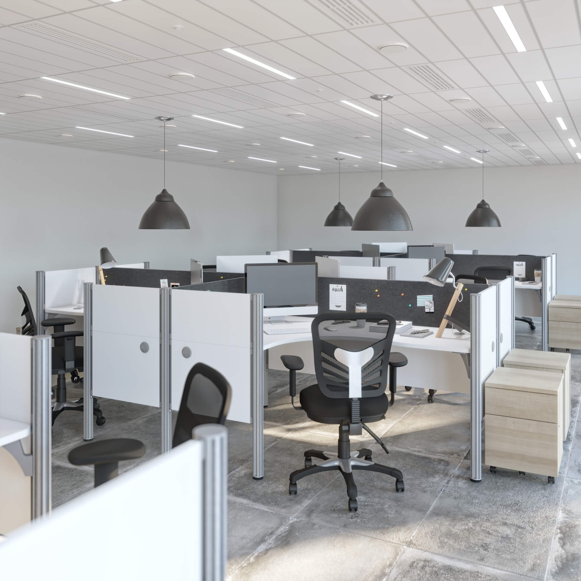 Office cubicles inspiration