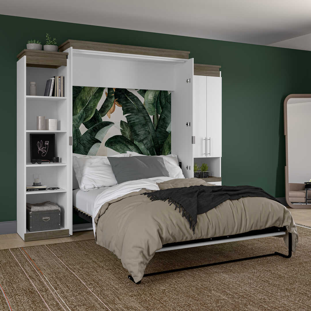 Murphy Bed with Storage Unit