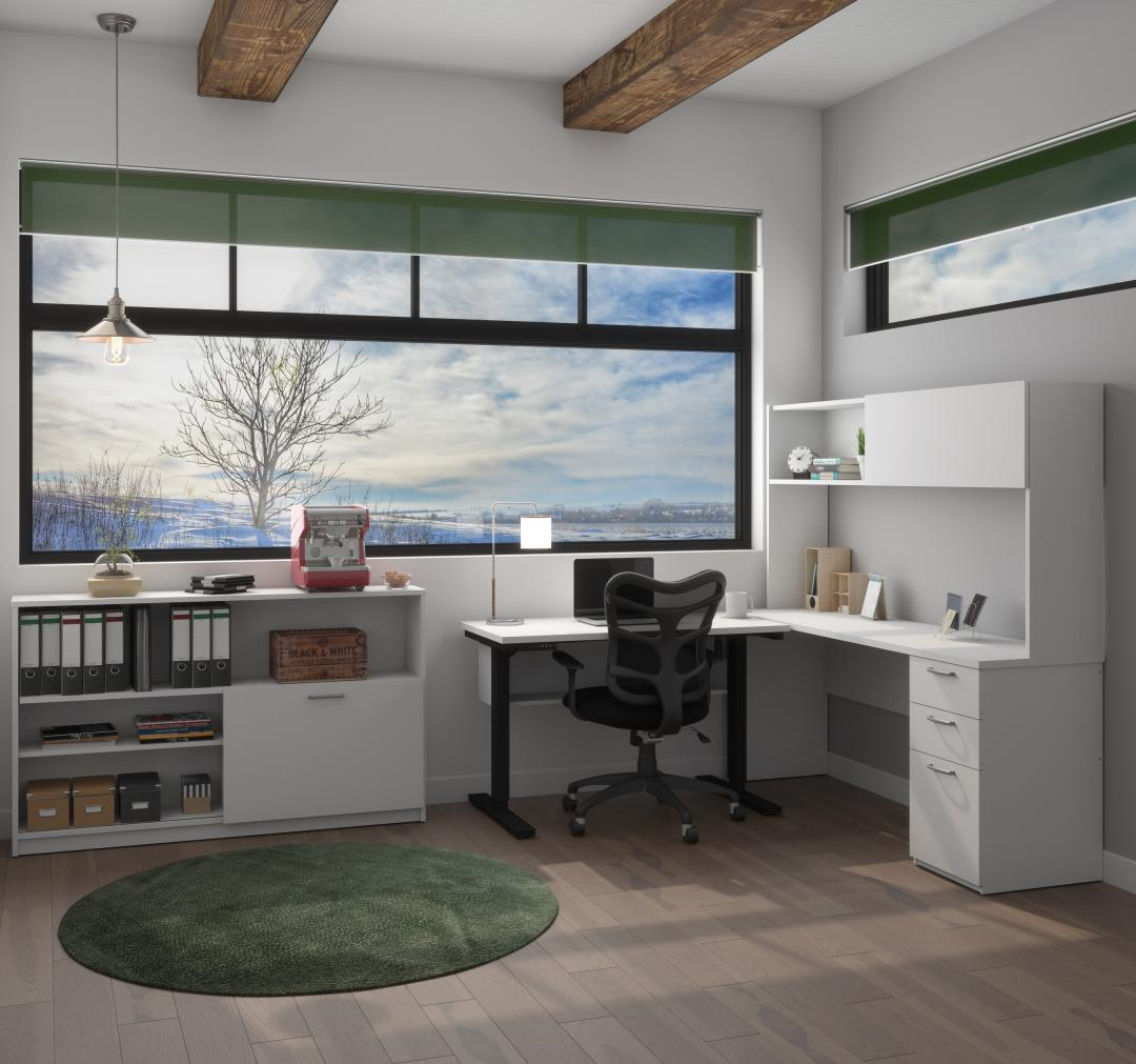 Home office with Bestar furniture