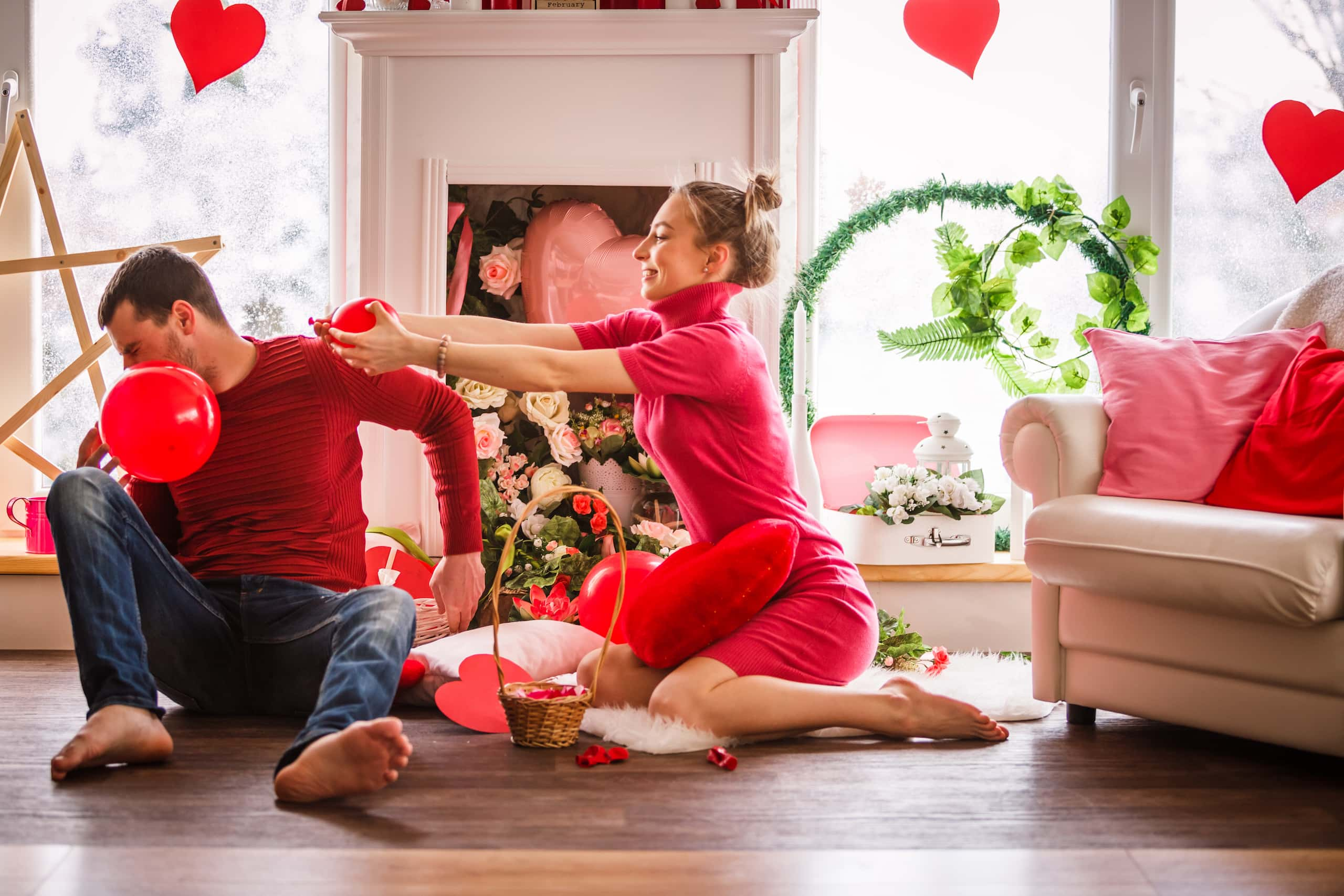 How to Celebrate Valentine's Day 2021 at Home