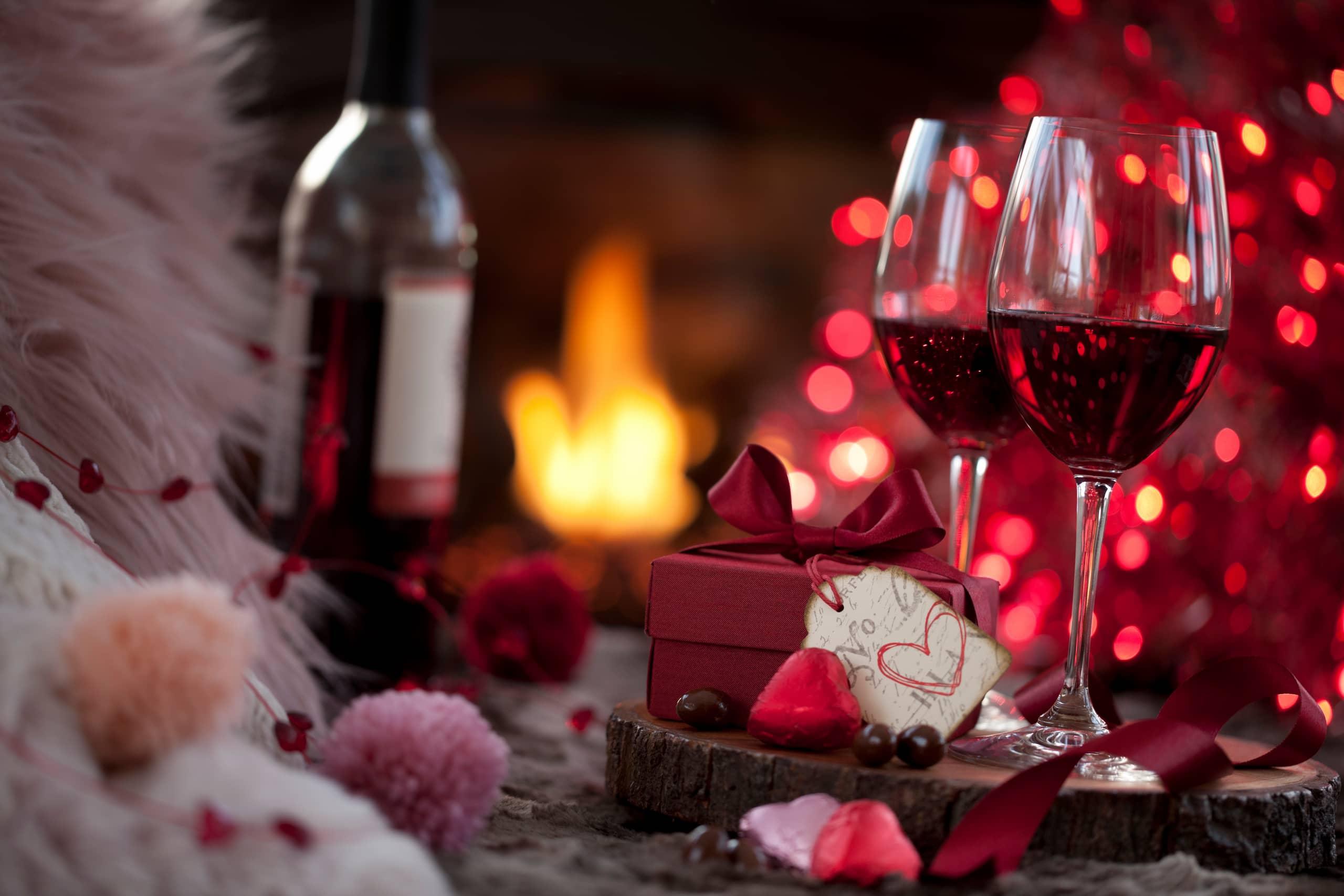 valentine's day 2021 date wine