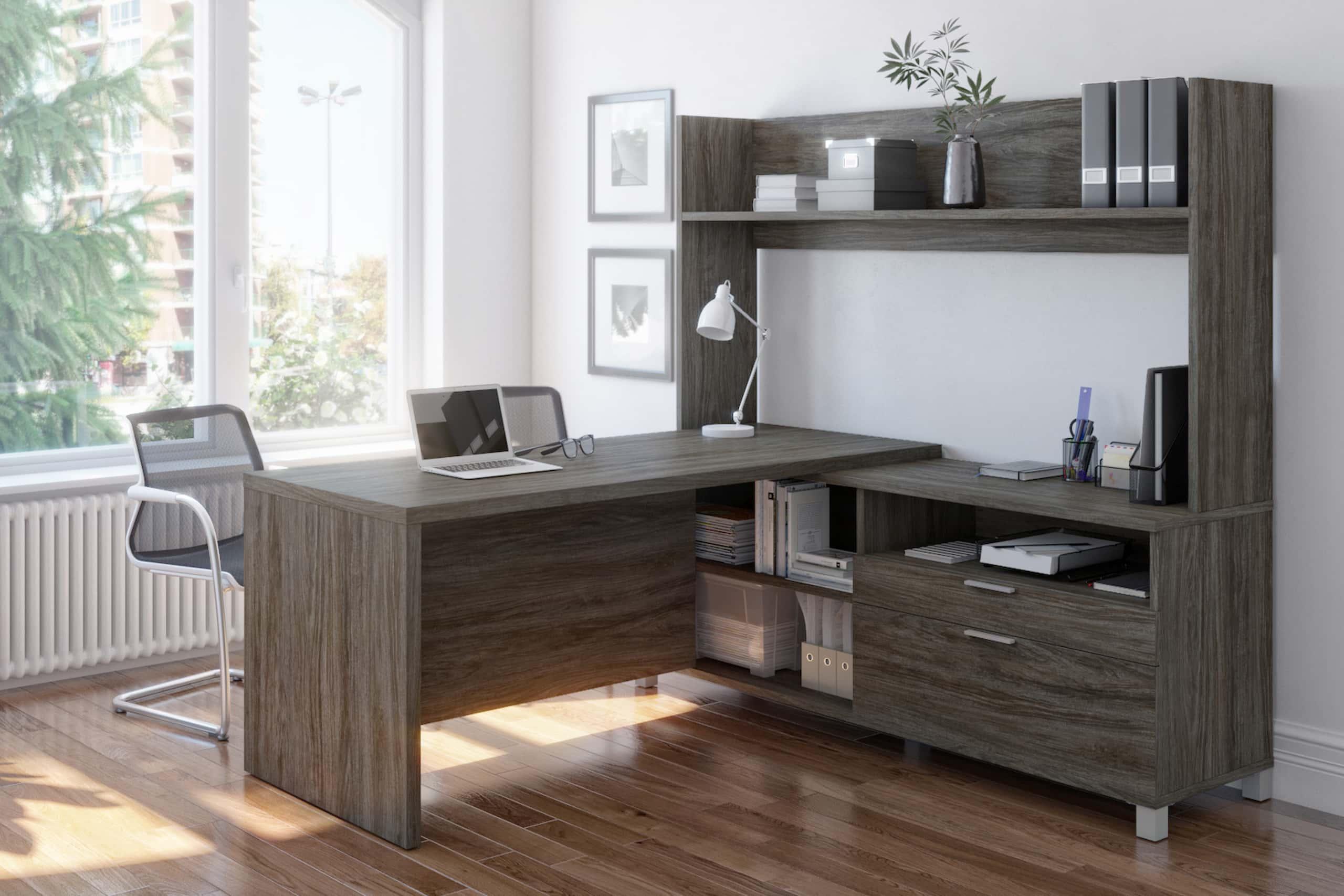 Hauteur de bureau standard pour un bureau en L