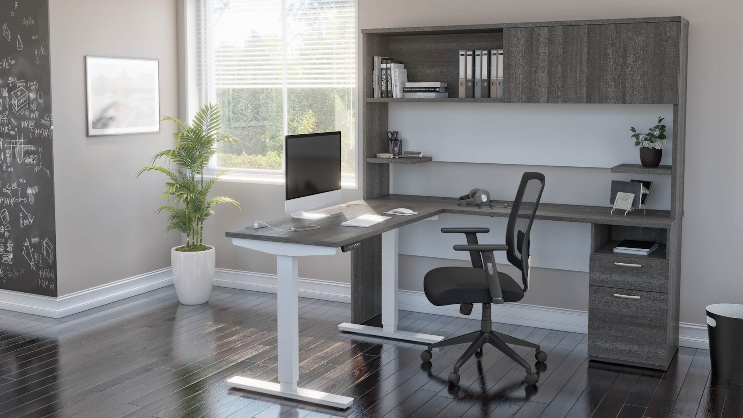 At-Home Office Spaces: How to Make a Standard Desk Height Work for You