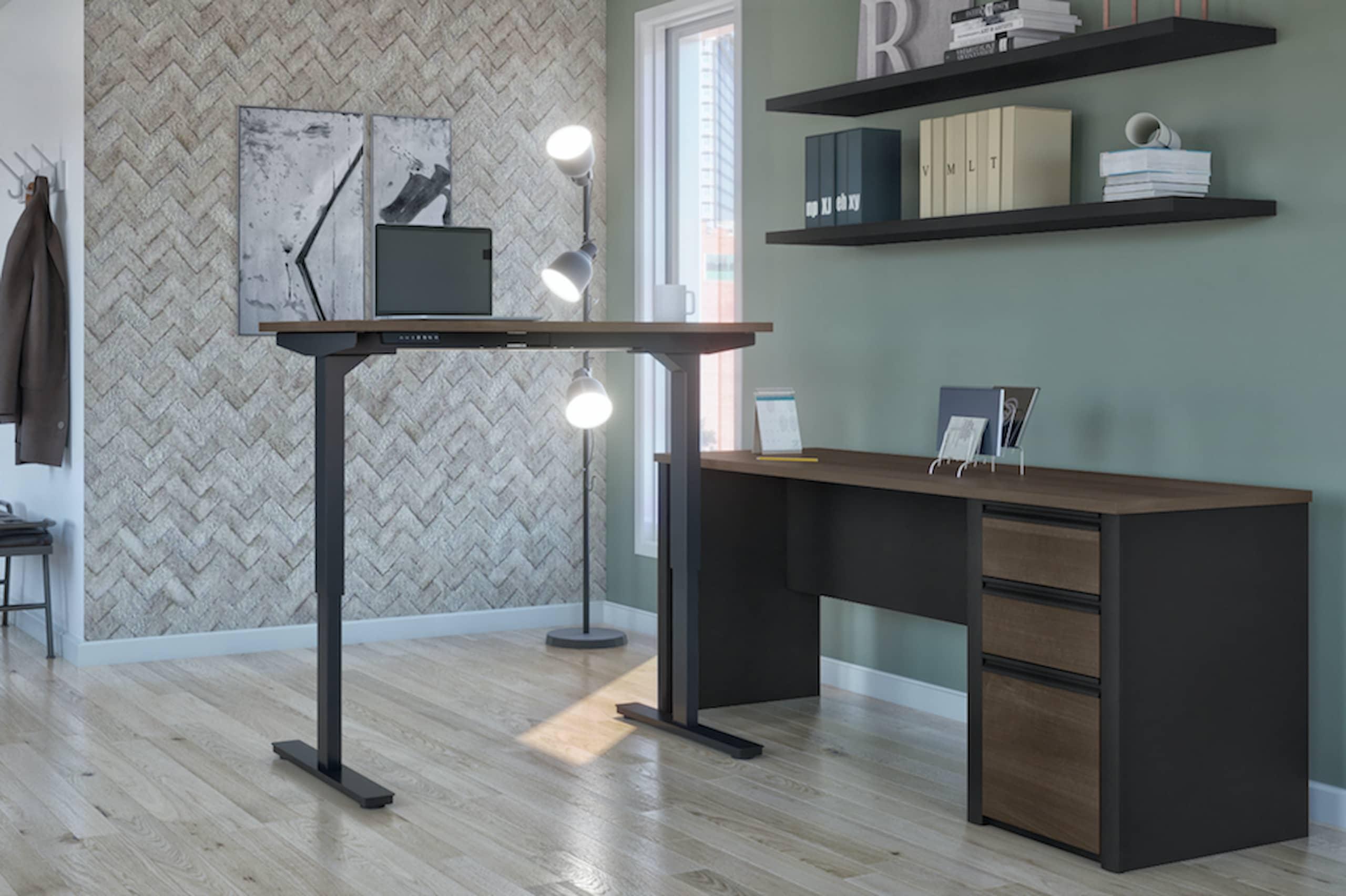 Hauteur de bureau standard et bureau assis-debout