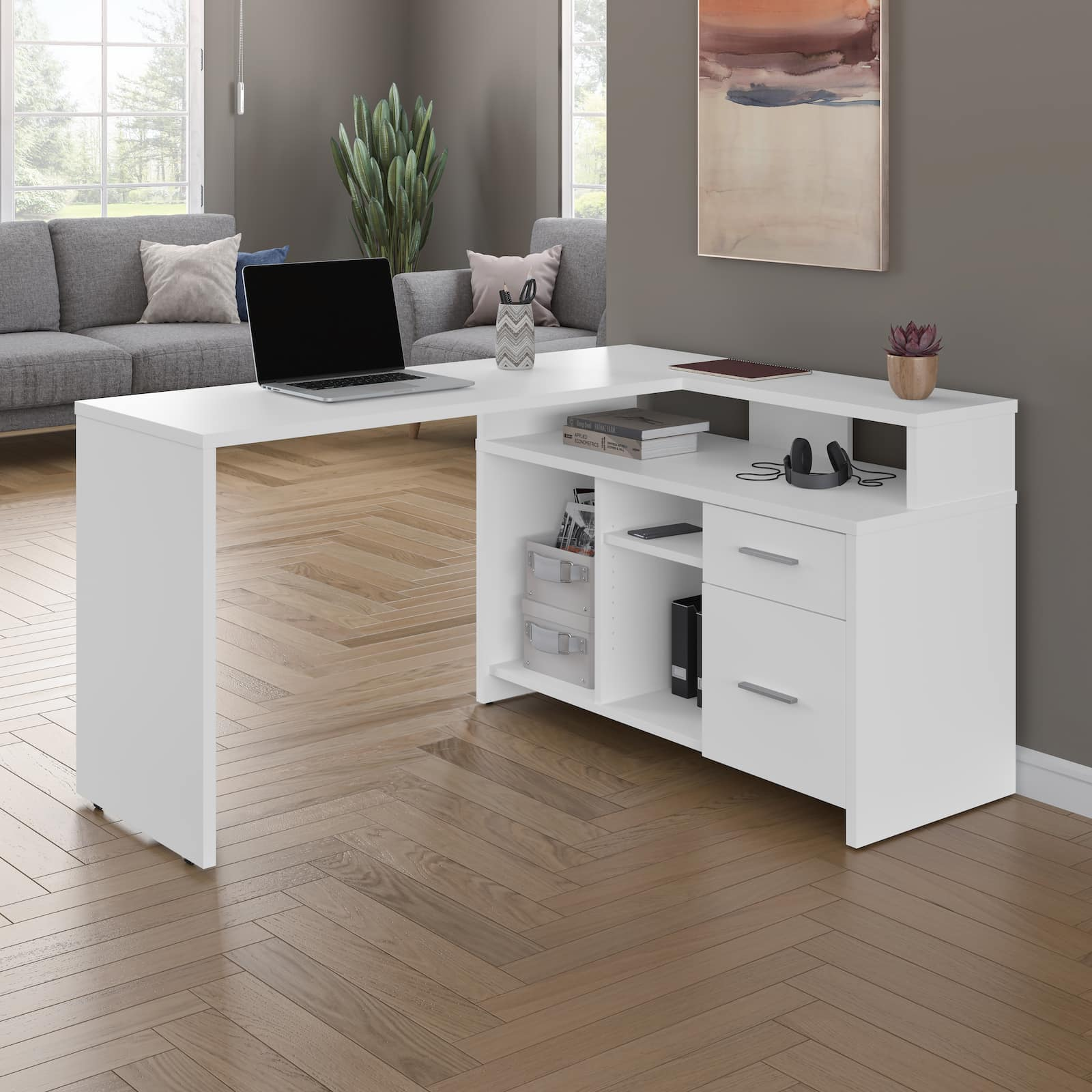 Searching for the Right Desk: 4 L Shaped Desk Features You'll Love!