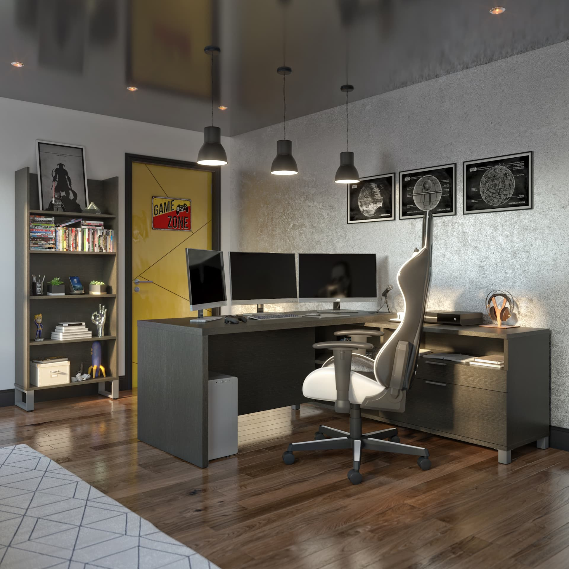 How to Create the Ultimate Gaming Space With a Bestar Gaming Desk