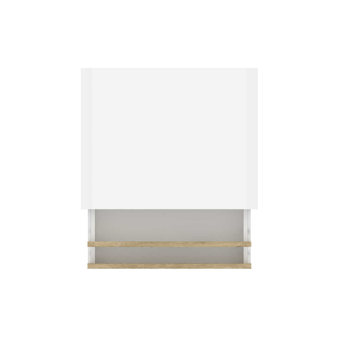 Blanc UV & Chêne Brun Sable