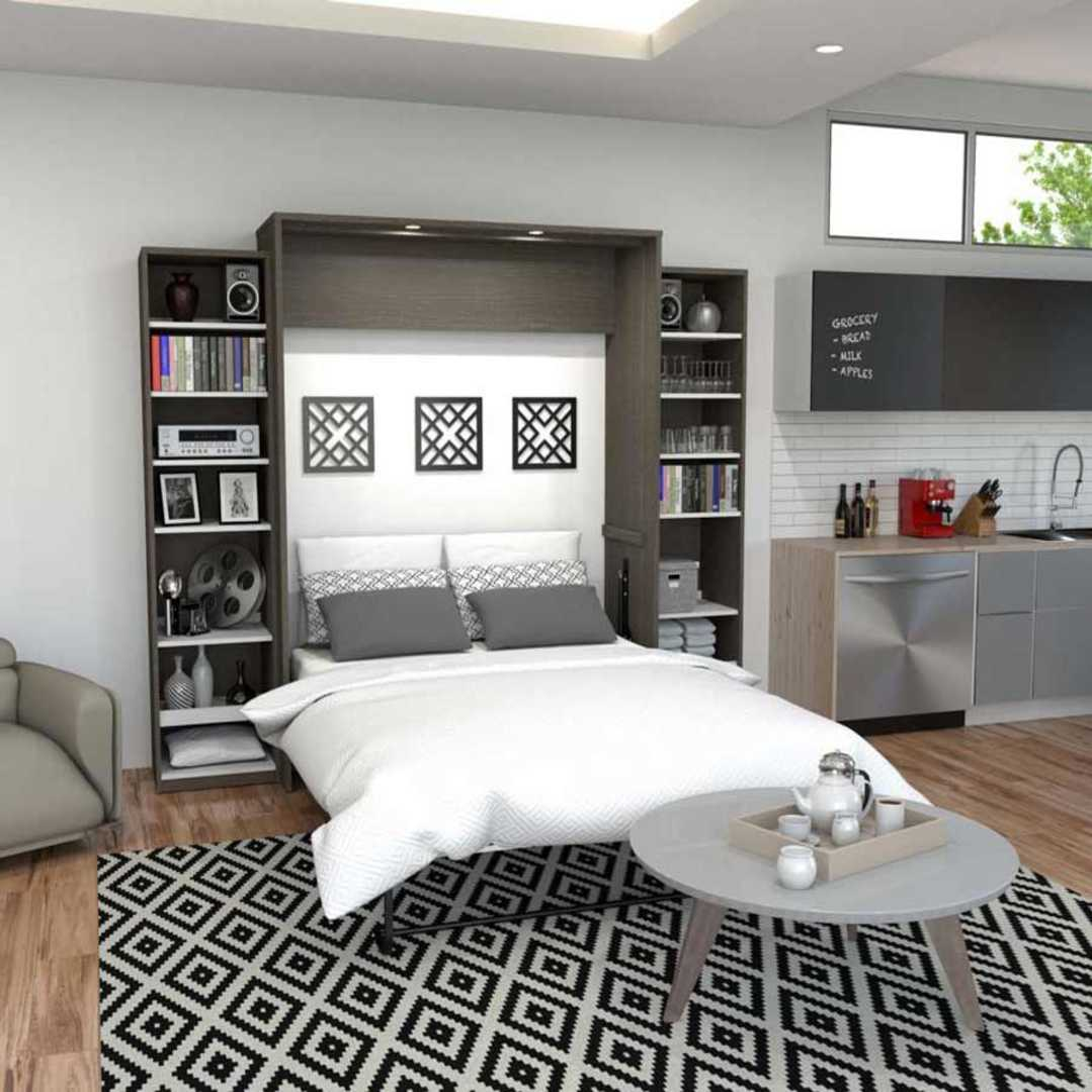 Bark Grey & White