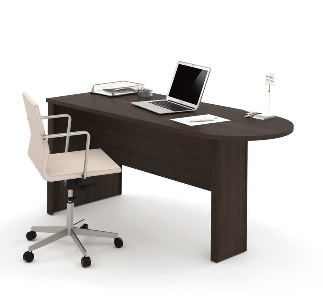 Table de bureau péninsule
