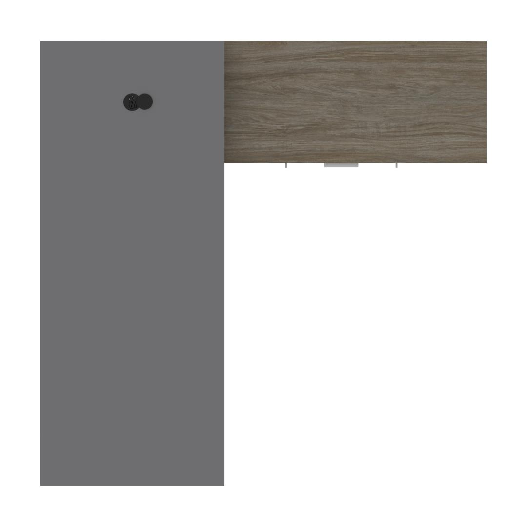 Slate & Walnut Grey