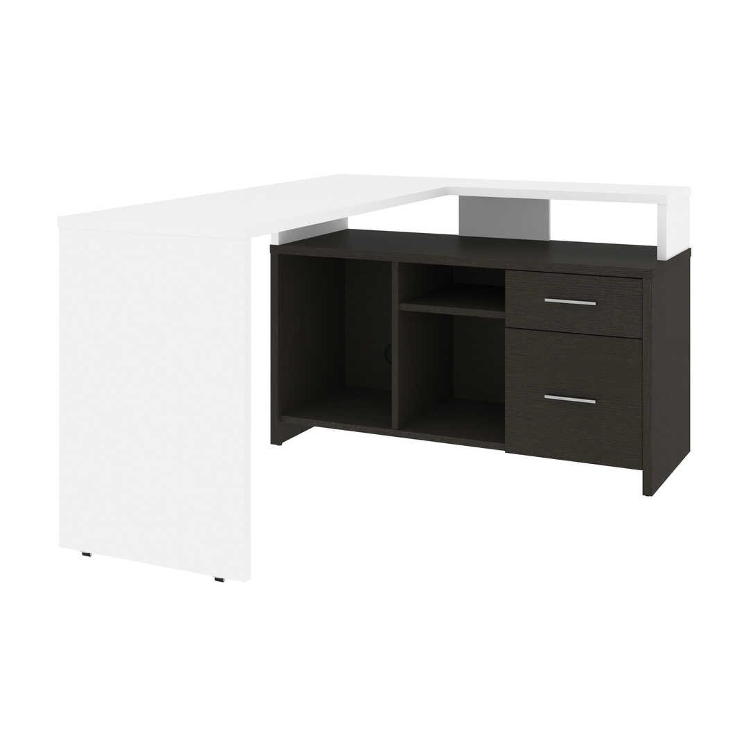 56W L-Shaped Desk