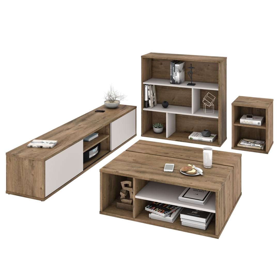 4-Piece Living Room Storage Set
