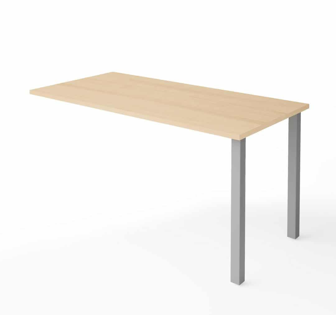 Return Table with Metal Legs