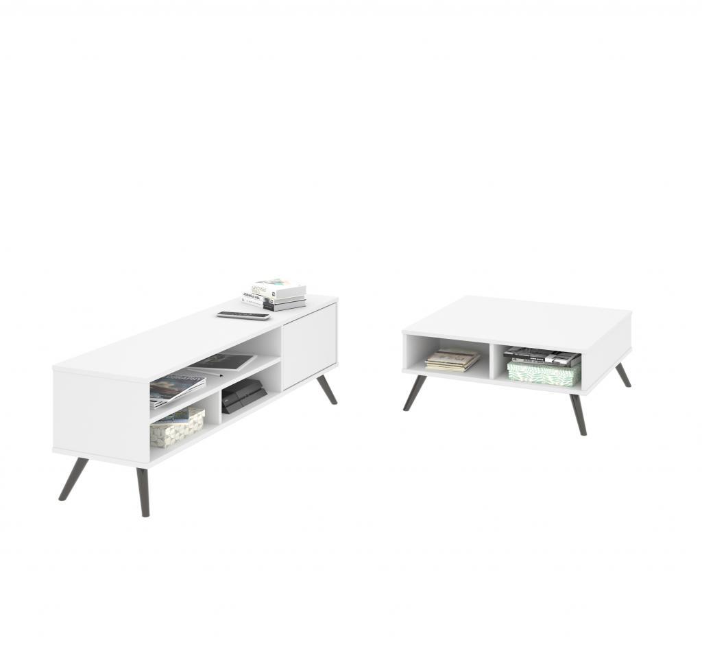 Ensemble de 2 articles incluant une table à café et un meuble télévision