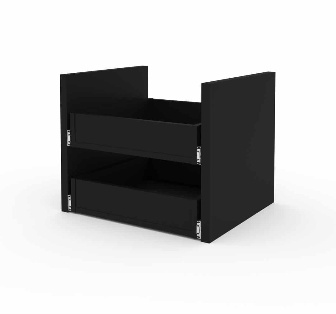 2-Drawer Set for Stackable Storage Cabinets