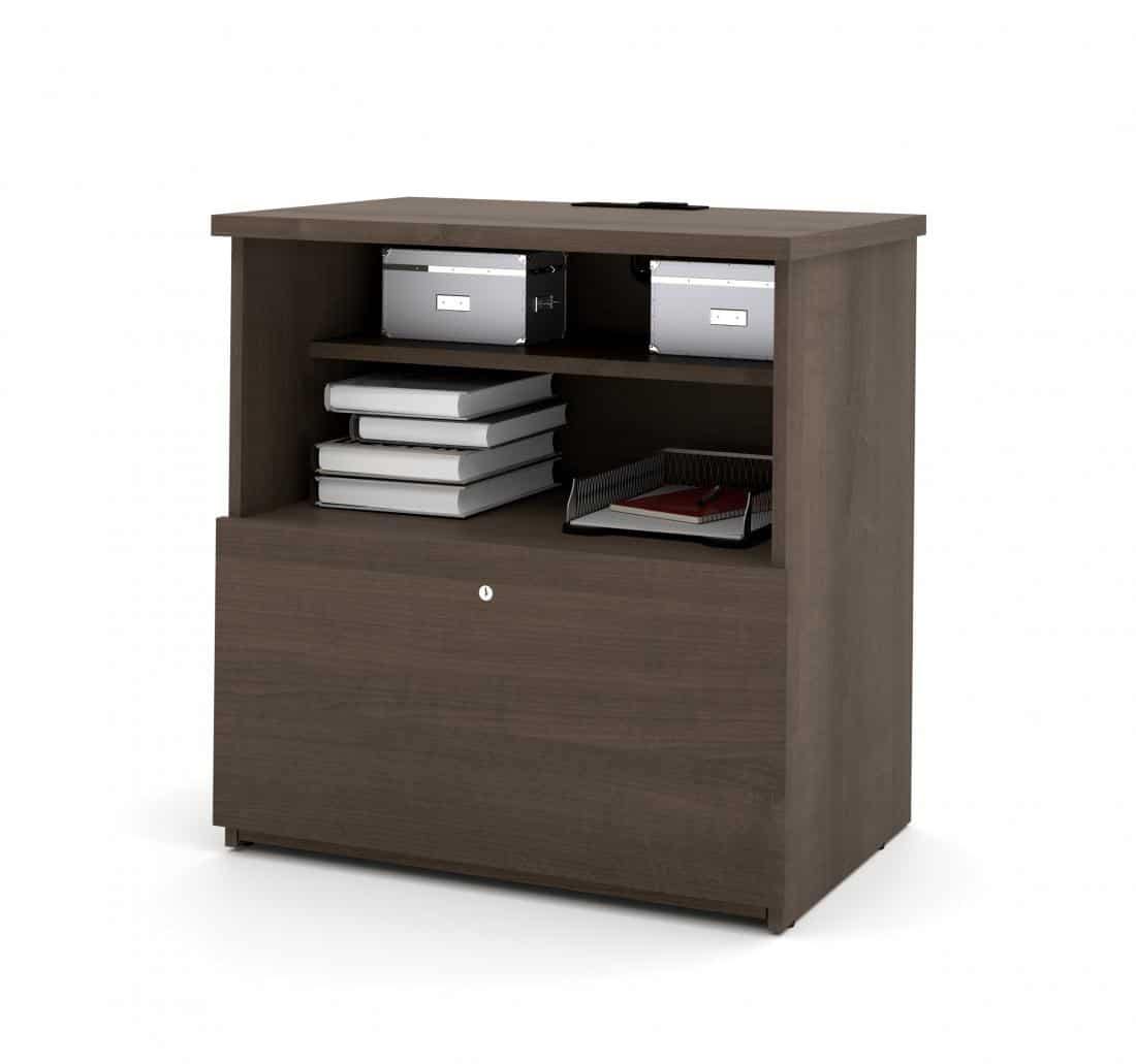 Lateral File Cabinet with Dual Power/USB Module