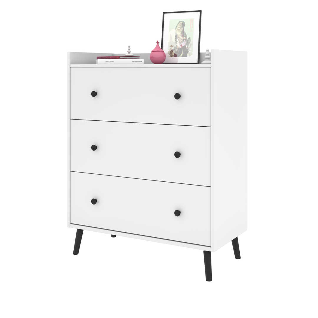 36W Dresser with 3 Drawers