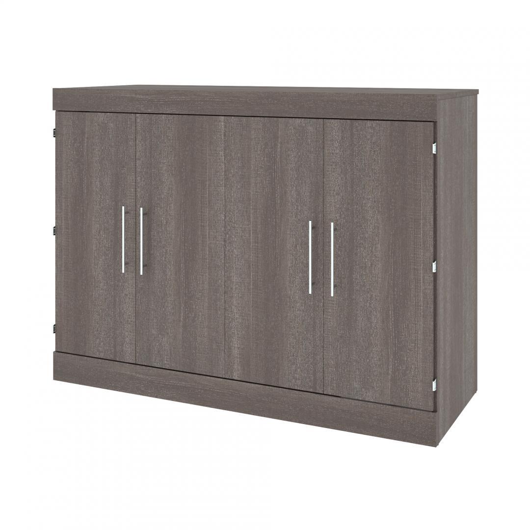 Lit cabinet deux places (double) avec matelas 60L