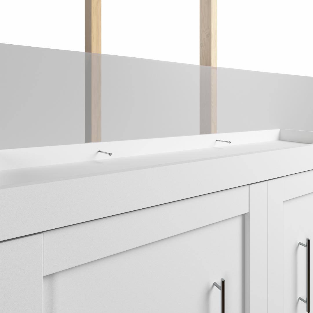 White & Walnut grey
