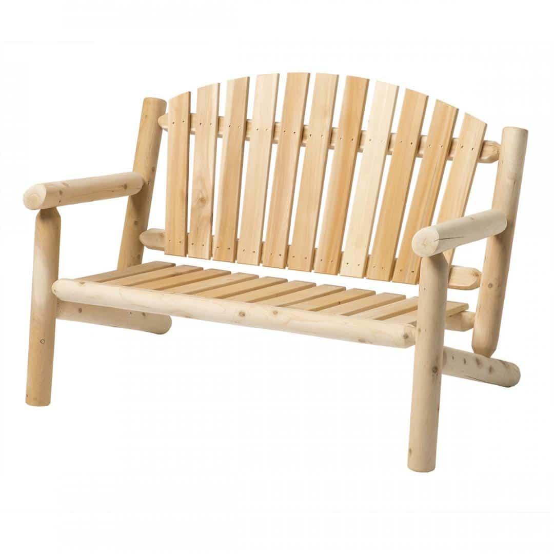 White Cedar 4' Settee