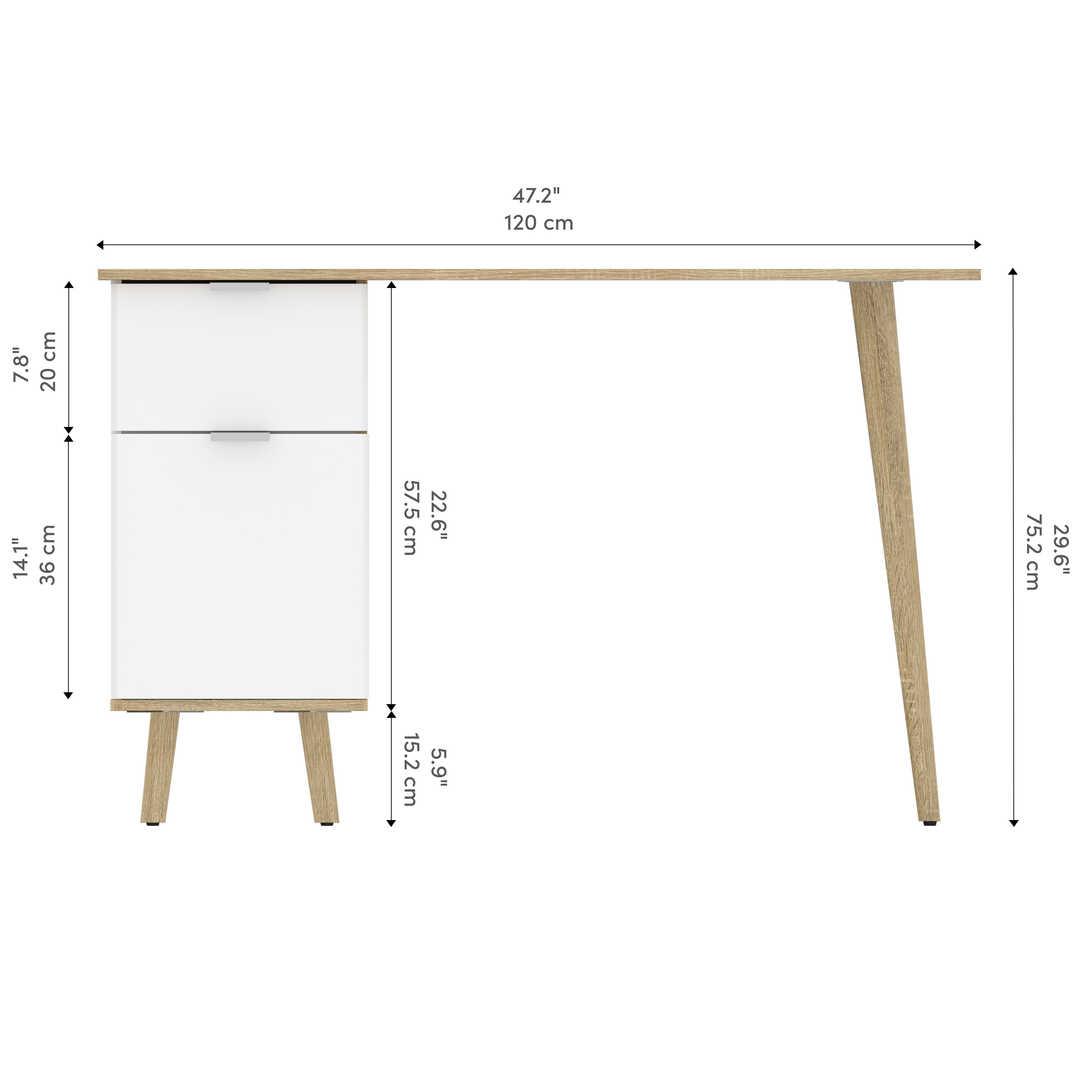 Chêne Moderne & Blanc UV