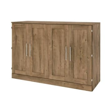 Queen Cabinet bed with mattress