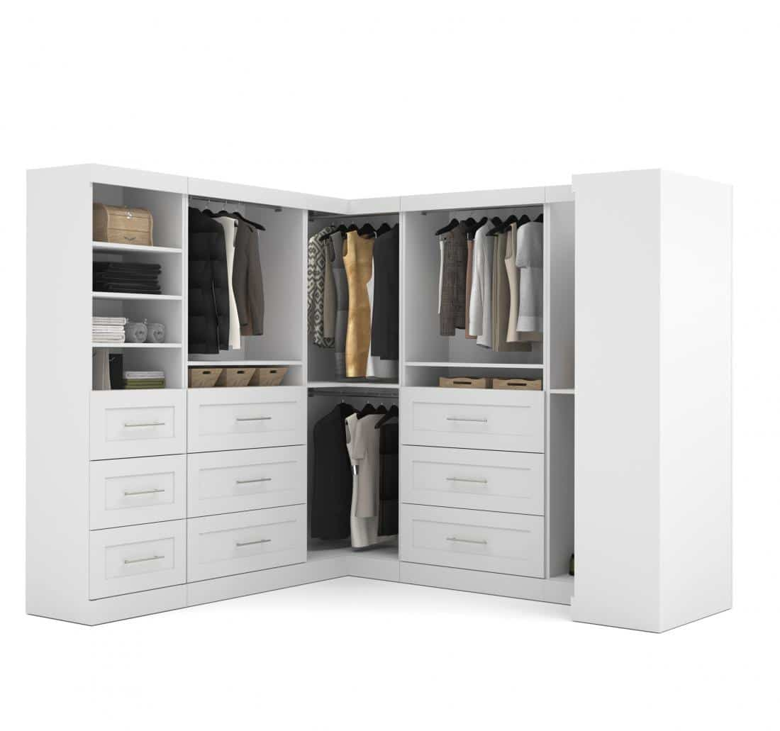 Walk-In Closet Organizer Set