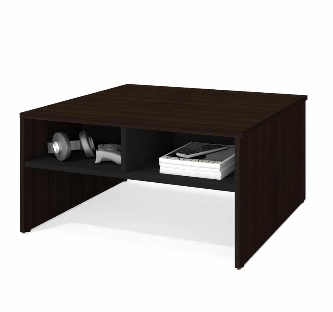 "29.5"" Coffee table with storage"