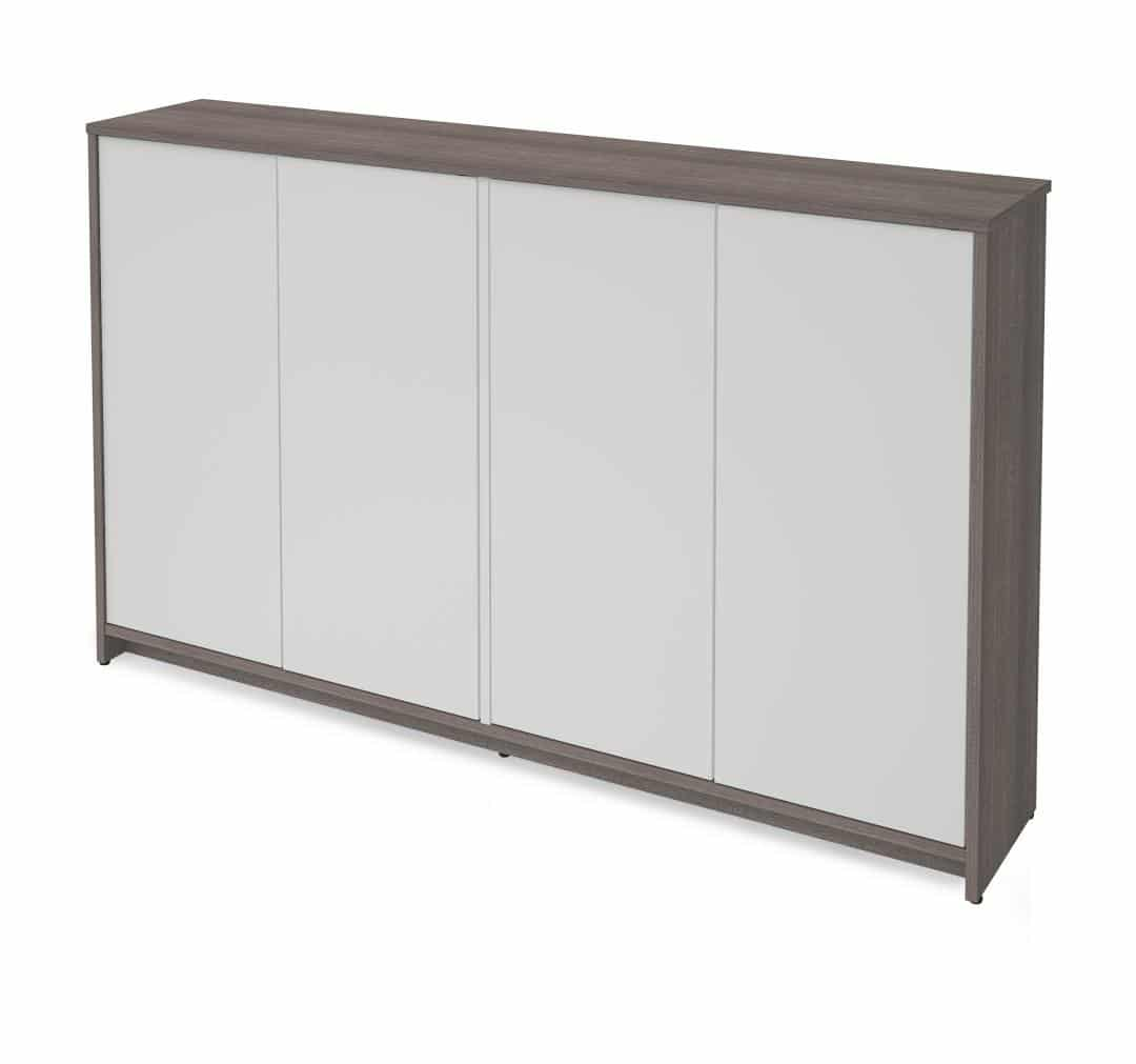 "Cabinet de rangement 60"", Collection Krom Par Bestar"