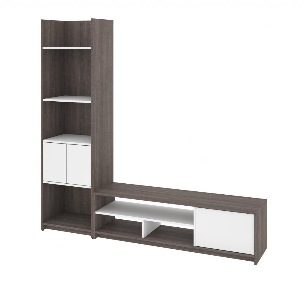 TV Stand with Shelving Unit