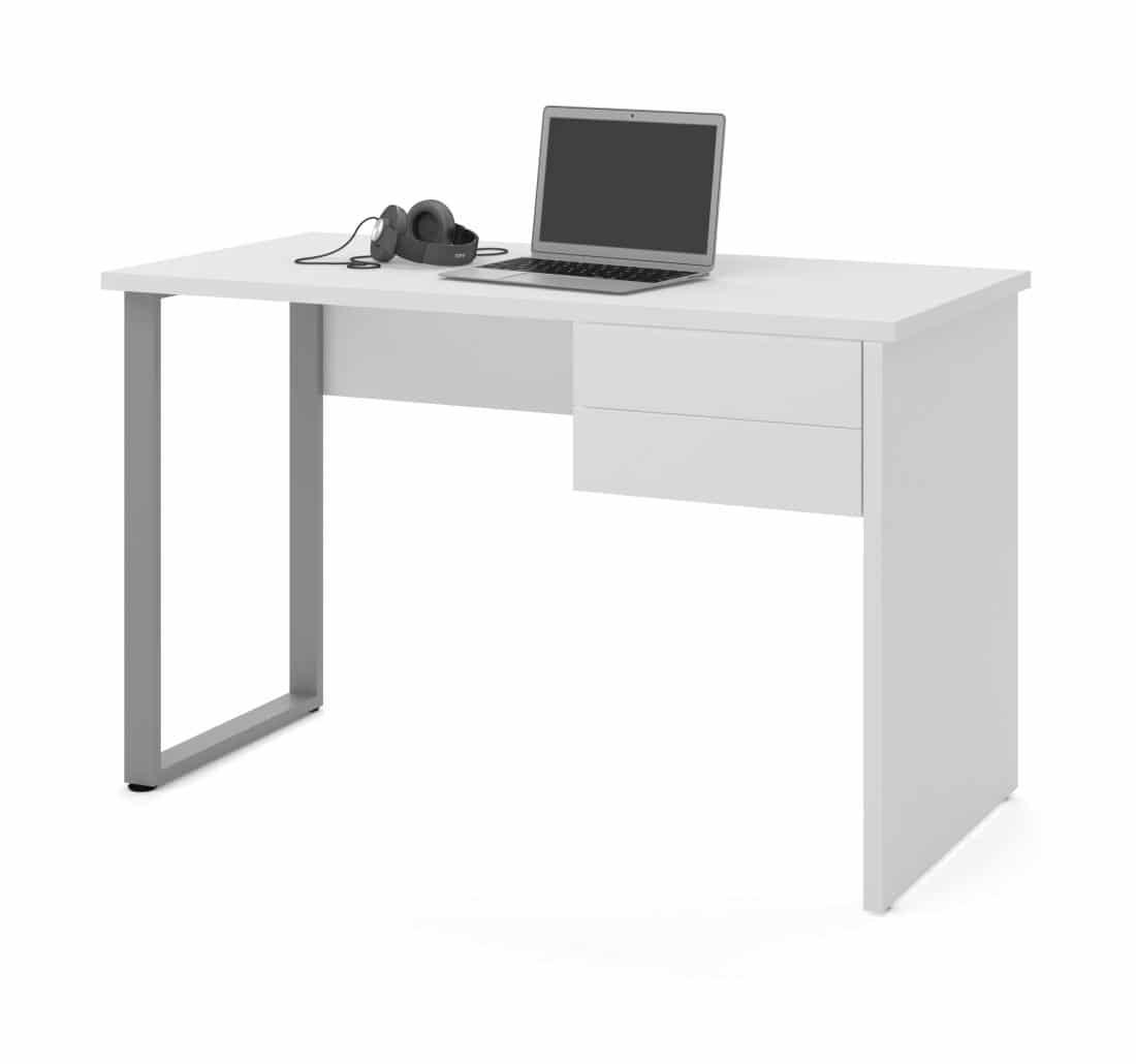 Table Desk with U-Shaped Metal Leg